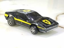 Vintage Ideal Toy Corp 1981 Black & Yellow #9 Ferrari EXTREMELY RARE