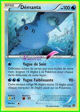 """Carte Pokemon """" DEMANTA """" Offensive Vapeur XY PV 100 27/114 VF"""