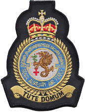 No. 4626 Squadron Royal Auxiliary Air Force RAuxAF MOD Crest Embroidered Patch