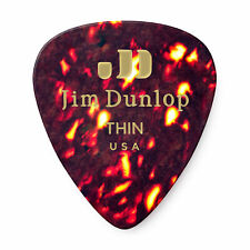 Dunlop Celluloid Shell Thin Guitar Picks - 72-pack - 483R05Th - Free Shipping