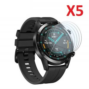 5 X Tempered Glass Screen Protector For Huawei Watch GT 2 46mm