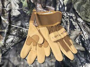 Carhartt Gloves Realtree Xtra Camo Hand Warmer Pocket Liner Hunting Gloves Sz L
