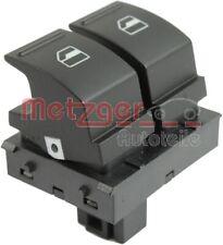 METZGER Schalter Fensterheber 0916307 fahrerseitig vorne 4-polig für VW GOLF 5 6
