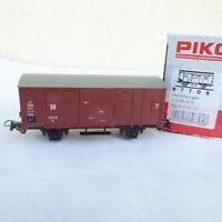 Piko 57705 H0 gedeckter Güterwagen G der DR Epoche 3 neuwertig in OVP