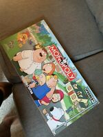 2006 Parker Brothers Family Guy Monopoly Board Game Complete in Box Excellent