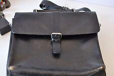 Kenneth Cole Leather Office Bag, Black Color