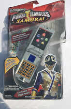 Power Rangers Samurai Gold Samuraizer Morpher With Sounds Role Play Flip Phone