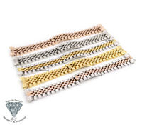 20mm Solid Steel Jubilee Bracelet Band For Rolex Datejust Watches + Tools