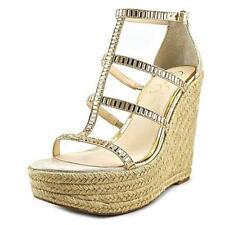 Sandalias y chanclas de mujer Jessica color principal oro sintético