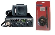 UNIDEN PRO520XL 40 CHANNEL CB RADIO With Magnet Mount Antenna Kit