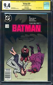 BATMAN #404 CGC SS FRANK MILLER 9.4 NM NEWSSTAND $1 CANADIAN PRICE VARIANT 1987