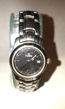 Vintage-Retro-Fendi-Ladies-Watch-Orologi-210L-Stainless-Bracelet-Swiss-Made