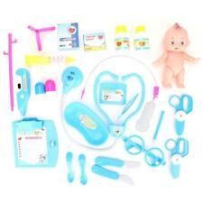 25Pcs Toy Medical Kit Doctor Nurse Pretend Play Kids Development Birthday Gift