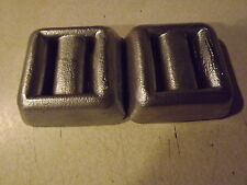 1-3lb & 1-4lb Lead Dive Weights Great For Scuba Diving And Free Shipping