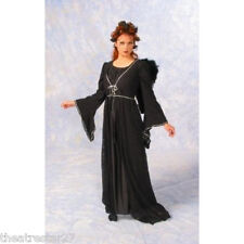 Quality BLACK LACE ANGEL Witch Costume Dress Alexanders Women's LG 115.95 Retail