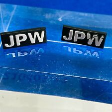 More details for jpw badge for speaker grill or cabinet - pair, one perfect, one scratched