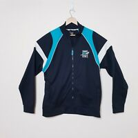 Port Adelaide Power Football Club Mens XL AFL Zip Up Jacket Jumper