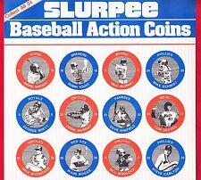 "1984 7-11 Slurpee Eastern Region Coins Checklist Sheet 8 1/2 x 14"" Cal Ripken Jr"