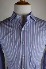 Brooks Brothers Slim Fit Dress Shirt 16 - 33 Egyptian Cotton Italy French Cuff