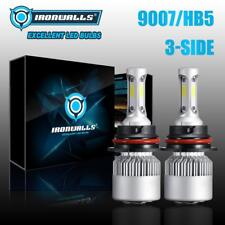 Hi-Lo 9007 HB5 2000W LED Headlight Bulbs Kit 6000K for Nissan Frontier 2001-2018