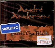 "ANDRE' ANDERSEN "" BLACK ON BLACK "" CD SIGILLATO 2002"