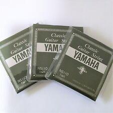 3pcs YAMAHA Classic Guitar String NS110 set