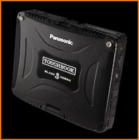 BLACK COBRA Panasonic Toughbook CF-19 • i5 2.5Ghz • 480GB SSD • 16GB, GPS, WIN10