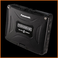 BLACK COBRA Panasonic Toughbook CF-19 • i5 2.5Ghz • 480GB SSD • 16GB • GPS • DVD