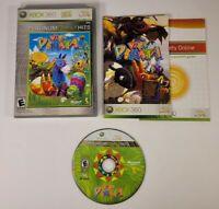 Viva Pinata (Microsoft Xbox 360 2006, Platinum Family Hits, Complete, CIB) Works