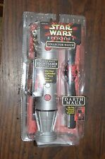 1999 STAR WARS Episode 1 DARTH MAUL Collector Watch & Lightsaber Case New in Pkg