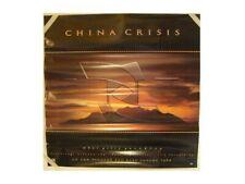 China Crisis Poster Sunset Old
