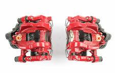 Bremssättel Bremssattel Set hinten Rot VW Golf R GTI Seat Leon Cupra Audi RS3