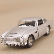1963 Aston Martin DB5 Silver 1:38 12.5cm Die Cast Pull Back James Bond Model Car