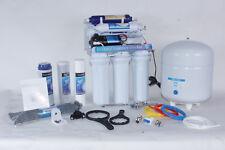 6 Stufige Osmose Osmoseanlage mit Ionisierer + Booster RO50BP -05 50G NSF