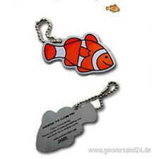 Anemonee the Clown Fish Travel Tag Travelbug Trackable Fisch