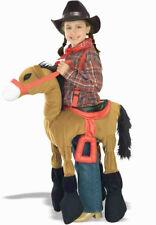 Child Ride a Brown Pony Costume Forum Novelties 57546