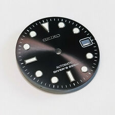 SUB Dial for Seiko SKX007, Seiko MOD part, fits NH35, C3Lume, BLACK