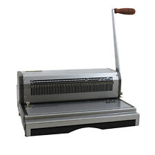 New Akiles Coilmac Plus Manual Oval Hole Coil Binding Machine - Free Shipping