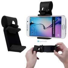 Universal Gray CAR MOUNT HOLSTER CLIP On Steering Wheel Cell Phone GPS Holder