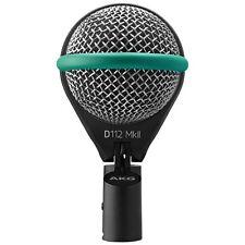AKG D112 MkII Professional Bass Kick Drum Microphone +Picks