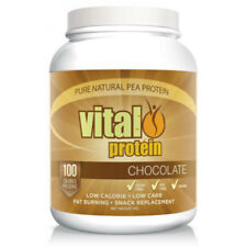 VITAL PROTEIN CHOCOLATE 1KG 100% PEA PROTEIN ISOLATE LOW CALORIES CARB VEGAN
