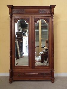 French LOUIS XVI    Walnut  Armoire  C1900 (HS252)
