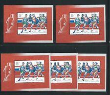 PR China 1992 (8) Olympics Games S/Sheet x 5 Shts Sc#2401 MNH