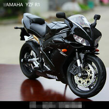 Cool 1:12 Maisto Yamaha YZF-R1 Moto Diecast Motorcycles Model Toy Gift Black