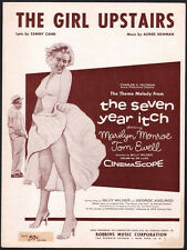 The Girl Upstairs 1955 Marilyn Monroe The Seven Year Itch Sheet Music