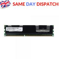 MICRON 8GB 1x 8GB 2Rx4 PC3L-10600R Server Memory ECC RAM MT36KSZF1G72PZ-1G4D1AD
