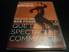 "DVD ""QUE LE SPECTACLE COMMENCE"" Roy SCHEIDER, Jessica LANGE / Bob FOSSE"