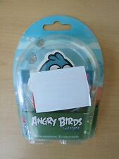 Angry Birds Tweeters & Earbuds Blue Stereo Headphones- iPod/iPhone Comp *New*