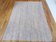 HERITAGE LACE IVORY FLOWERS TABLECLOTH 54WX77L ITEM 4099