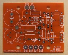 "DIY PCB - High voltage ""Maida"" style regulator PCB"